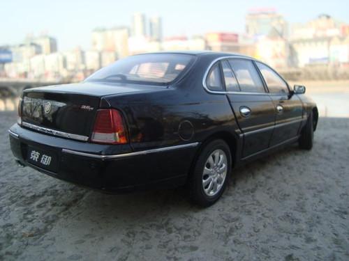 1/18 Dealer Edition Buick Royaum (Black) Diecast Car Model