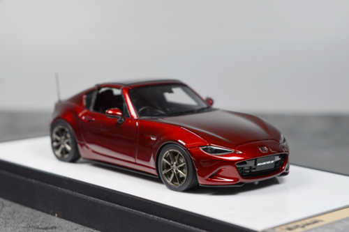 1/43 MAKEUP Make Up Mazda MX-5 MX5 Roaster RF (Red) Diecast Car Model