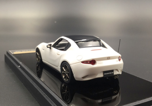 1/43 MAKEUP Make Up Mazda MX-5 MX5 Roaster RF (White) Diecast Car Model