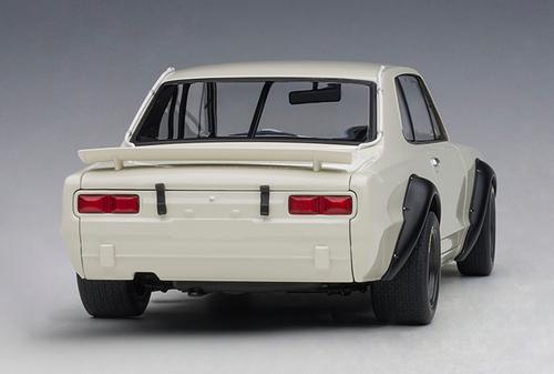 1/18 AUTOart 1972 NISSAN SKYLINE GT-R GTR KPGC-10 KPGC10 RACING (WHITE) Diecast Car Model 87279