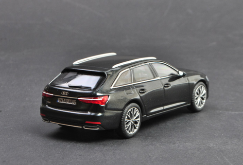 1/43 Dealer Edition Audi A6 Avant (Black) Diecast Car Model
