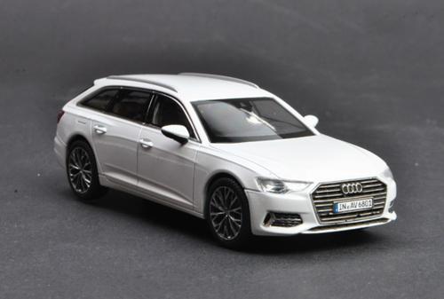 1/43 Dealer Edition Audi A6 Avant (White) Diecast Car Model