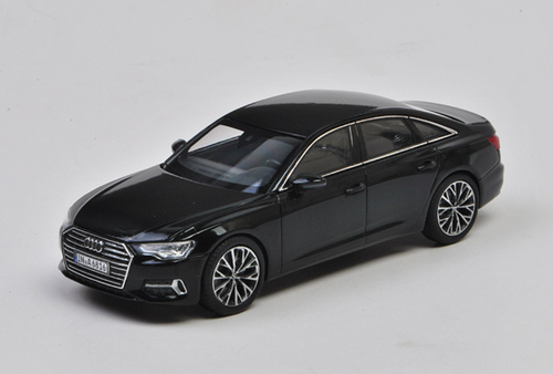 1/43 Dealer Edition Audi A6 (Black) Diecast Car Model