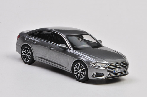 1/43 Dealer Edition Audi A6 (Silver Grey) Diecast Car Model