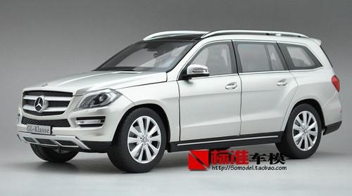 1/18 Dealer Edition 2012 Mercedes-Benz GL-Class / GL-Klasse GL500 (Silver) Diecast Car Model