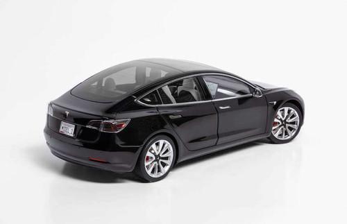 1/18 Dealer Edition Tesla Model 3 (Black) Diecast Car Model