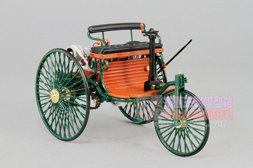 1/18 Norev 1886 Mercedes-Benz No.1 Classic Selection Diecast Model