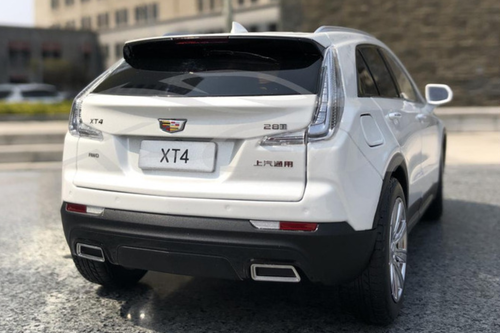 1/18 Dealer Edition Cadillac XT4 (White) Diecast Car Model
