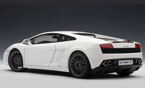 1/18 AUTOart LAMBORGHINI GALLARDO LP550-2 BALBONI - BIANCO MONOCERU / WHITE Diecast Car Model 74635