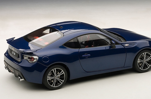1/18 AUTOart TOYOTA GT86 (EUROPEAN VERSION/LHD)(BLUE SILICA) Diecast Car Model 78775