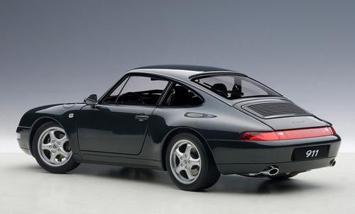 1/18 AUTOart 1995 PORSCHE 911 993 CARRERA (GREEN METALLIC) Diecast Car Model 78134