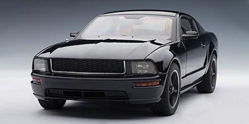 1/18 AUTOart 2008 FORD BULLITT MUSTANG GT (BLACK) Diecast Car Model 73067