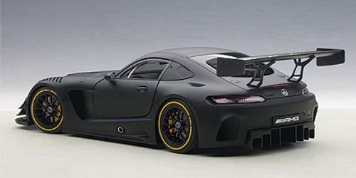 1/18 AUTOart Mercedes-Benz MERCEDES-AMG GT3 PLAIN COLOR VERSION (MATT BLACK) Diecast Car Model 81532