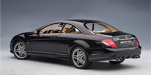 1/18 AUTOart Mercedes-Benz Mercedes MB CL63 AMG (Black) Diecast Car Model 76169