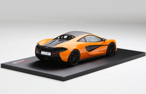 1/18 TSM Top Speed McLaren 570S Spider (Orange) Resin Car Model