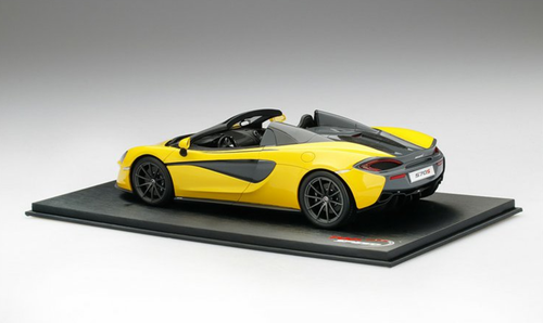 1/18 TSM Top Speed McLaren 570S Spider (Yellow) Resin Car Model