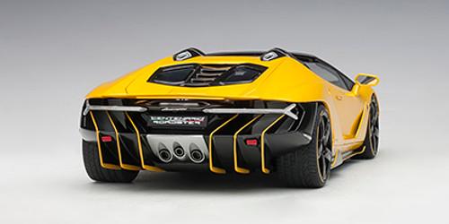 1/18 AUTOart LAMBORGHINI CENTENARIO ROADSTER (GIALLO INTI / PEARL YELLOW) Diecast Car Model 79117