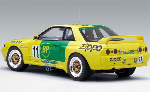 1/18 AUTOart 1993 NISSAN SKYLINE GT-R GTR (R32) GROUP A BP OIL TRAMPIO GT-R #11 Diecast Car Model 89391