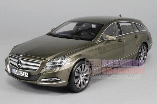1/18 Norev 2012 Mercedes-Benz CLS 500 CLS500 Shooting Brake (Brown) Diecast Car Model