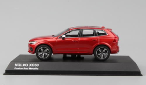 1/43 Dealer Edition Volvo XC60 (Fusion Red Metallic) Diecast Car Model