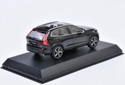 1/43 Dealer Edition Volvo XC60 (Onyx Black Metallic) Diecast Car Model