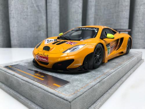 1/18 Tecnomodel McLaren MP4-12C GT3 (Orange) Resin Car Model