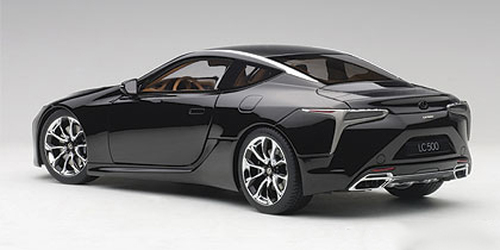 1/18 AUTOart LEXUS LC LC500 LC 500 (BLACK) Diecast Car Model 78849