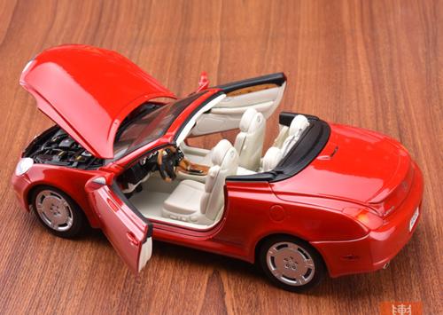1/18 Welly Lexus SC SC430 (Red) Diecast Car Model