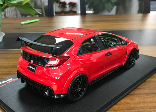 1/18 TSM Top Speed Honda Civic Type R TypeR (Red) Resin Car Model