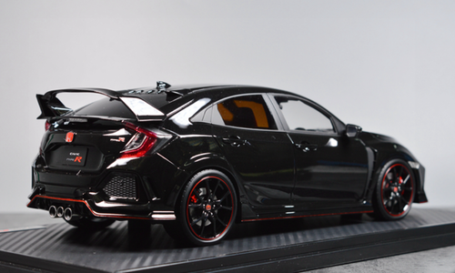 1/18 IG Ignition Model Honda Civic Type R TypeR FK8 (Black) Resin Car Model