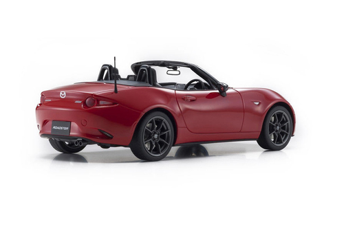 1/18 Kyosho Mazda MX-5 MX5 Roadster (Red) Resin Car Model Limited 400 Pieces