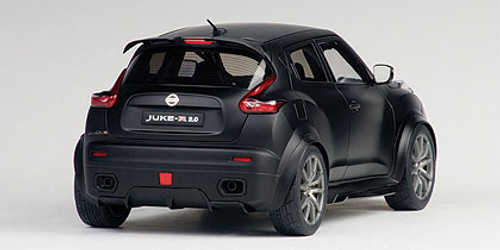 1/18 AUTOart NISSAN JUKE R 2.0 R2.0 (MATT BLACK) Diecast Car Model 77458