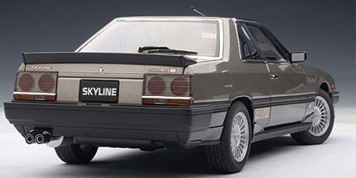 1/18 AUTOart NISSAN SKYLINE HARDTOP 2000 TURBO INTERCOOLER RS-X (DR30) - METALLIC GREY Diecast Car Model 77428