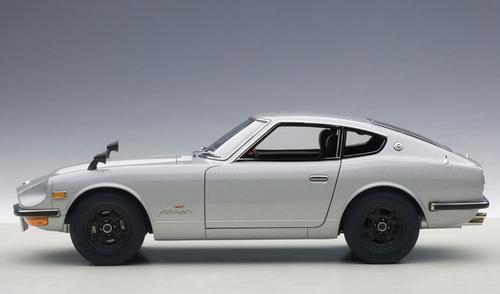 1/18 AUTOart 1969 NISSAN FAIRLADY Z Z432 (PS30) (SILVER) Diecast Car Model 77437