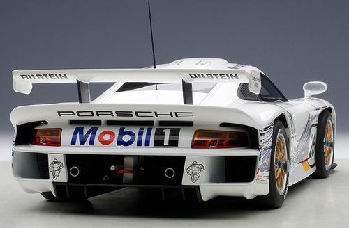 1/18 AUTOart PORSCHE 911 GT1 24HRS LEMANS 1997 E.COLLARD/R.KELLENERS/Y.DALMAS #26 Diecast Car Model 89773