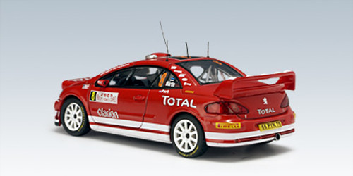"1/43 AUTOart PEUGEOT 307 WRC 2005 M.MARTIN/M.PARK #8 (RALLY OF MONTE CARLO)"" NIGHT RACE VERSION"" Diecast Car Model 60555"