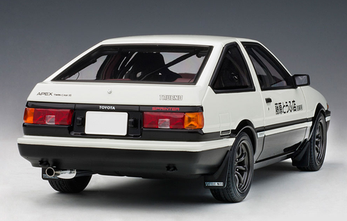 "1/18 AUTOart TOYOTA SPRINTER TRUENO (AE86) ""INITAIL D"" PROJECT D FINAL VERSION Diecast Car Model 78799"