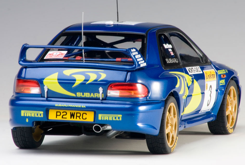 1/18 AUTOart SUBARU IMPREZA WRC 1997 #3 COLIN MCRAE/NICKY GRIST (RALLY OF MONTE CARLO) Diecast Car Model 89790