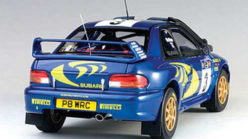 1/18 AUTOart SUBARU IMPREZA WRC 1997 #3 COLIN MCRAE/NICKY GRIST (RALLY OF SAFARI) Diecast Car Model 89792