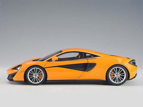 1/18 AUTOart McLaren 570S McLaren Orange w/ Silver Wheels Diecast Car Model 76044