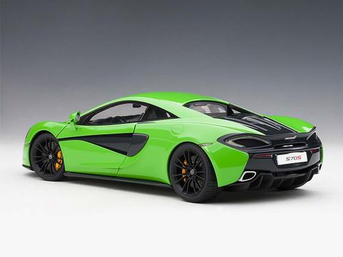 1/18 AUTOart McLaren 570S McLaren Mantis Green w/ Black Wheels Diecast Car Model 76044
