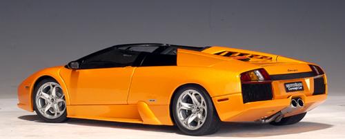 1/18 AUTOart Lamborghini Murcielago LP640 Concept Car Roadster Convertible (Orange) Diecast Car Model 74563