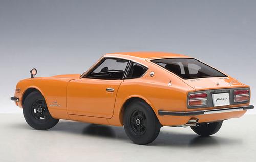 1/18 AUTOart 1969 Nissan Fairlady Z432 (PS30) (Orange) Diecast Car Model 77436