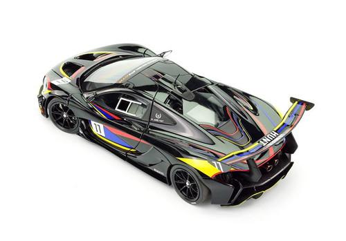 1/18 Almost Real Almostreal McLaren P1 GTR James Hunt #11 Diecast Car Model
