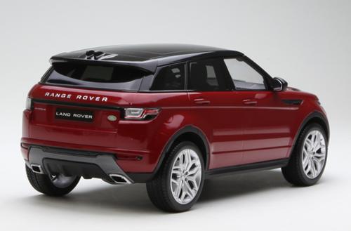 1/18 Kyosho OUSIA Land Rover Range Rover Evoque (Red) Car Model