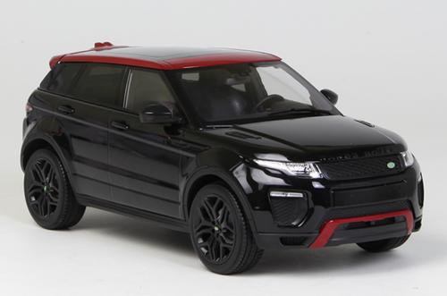 1/18 Kyosho OUSIA Land Rover Range Rover Evoque (Black) Car Model