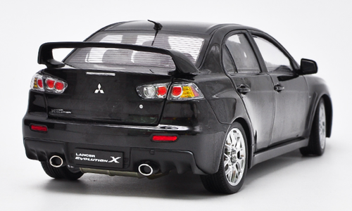 1/18 Dealer Edition Mitsubishi Lancer EVO Evolution X w/ BBS Wheels (Black) Diecast Car Model