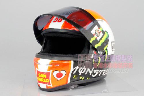 1/2 Minichamps Marco Simoncelli AGV Helmet Model Limited 999 Pieces