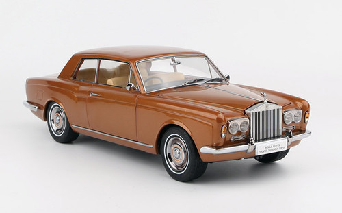 1/18 Paragon Rolls-Royce Silver Shadow MPW 2DR Coupe (Bronze) Diecast Car Model