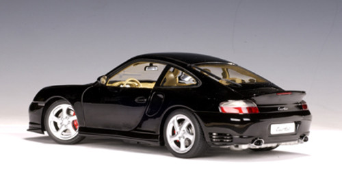 1/18 AUTOart Porsche 911 Turbo 996 (Black) Diecast Car Model 77833